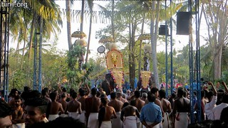 Thrissur Anchery Kavu Temple Bharani Vela 4