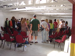 Circling up for mega Jeepers Peepers (Tan Tachyon) Tags: arthur julian rory linus shawn loren improv joanne cynthia dominic dorothee nickp 2013 watertheweeds jeeperspeepers lisaj kassiah theresej