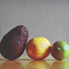 253.365.02 (Randomographer (ghost)) Tags: life food fruit table avocado three still lemon healthy natural top delicious photograph americana citrus trio organic lime plantae sour vitaminc lim limon project365 persea