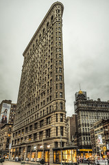 The Flatiron Building 2 (Towfiq Ahmed) Tags: new york city nyc building architecture photography nikon flickr downtown manhattan district ahmed flatiron hdr d90 towfiq towfiqahmed