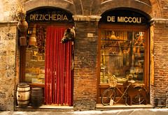 Siena Storefront (bostondave34) Tags: travel italy window butcher tuscany storefront siena