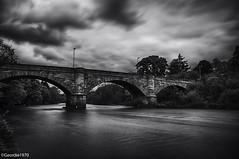 Garrion Bridge B&W (Geordie1970) Tags: blackandwhite bw mono scotland riverclyde nikon stonebridge clydevalley southlanarkshire nikonphotography garrionbridge silverefex nikon1024mm nikond300s geordie1970