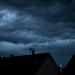 Germany, Tübingen, Storm