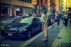 Skater (Marc Carrera) Tags: street city nyc newyork calle ciudad skate streetphoto skater gorra chico patina joven nuevayork