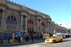 The Metropolitan Museum of Art (koborin) Tags: nyc newyorkcity travel ny newyork museum manhattan taxi yellowcab 5thavenue fifthavenue met matisse bernini uppereastside 5thave themetropolitanmuseumofart nyctaxi museummile