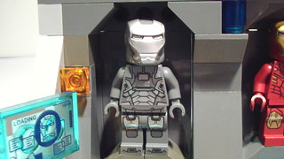 Lego Iron Man MOC: Golden Class Armory