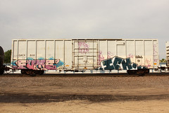 FUME ICH (The Braindead) Tags: art minnesota train bench photography graffiti painted tracks minneapolis rail explore beyond the