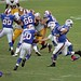 Buffalo Bills QB Jeff Tuel hands off to RB Tashard Choice...