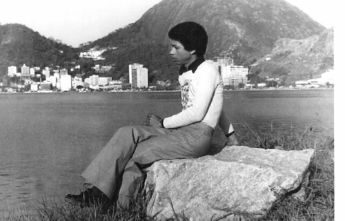 Djavan na Lagoa R. de Freitas 1974