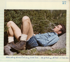 Vintage Frank, Strawberry Mountain Wilderness, 1973 (A.Davey) Tags: frank 1970s gayman