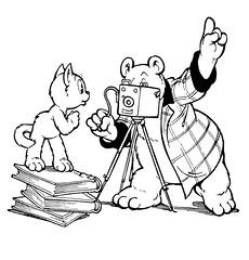 Ollie B. Bommel's fotoboek 02 (HansHolt) Tags: bommel 1952 martentoonder tompoes fotoboek olliebbommel
