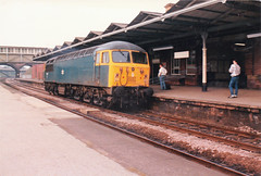 56028 (marcus.45111) Tags: grid 1987 rotherham toton closedstation lightengine class56 masborough 56028 classictraction