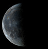Moon 9/27/13 (zAmb0ni) Tags: sky moon night high mosaic space crater resolution astronomy lunation astrophtography