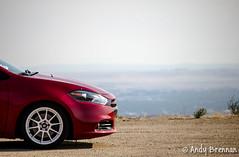 Dodge Dart (andyb96) Tags: red white photography automotive basin idaho boise dodge dart bogus