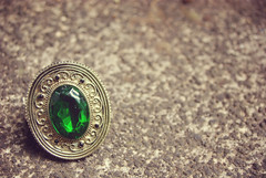 Ring (Forty-Six and 2 Photography) Tags: old green beautiful bronze vintage pretty ring jewellery fantasy mystical emerald