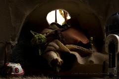10/12 | The Death of Yoda (egerbver) Tags: star yoda thomas luke henry hut jedi wars remake wallis alternative reconstruction redo recreate artoo chatterton vision:sunset=0568 vision:sky=069