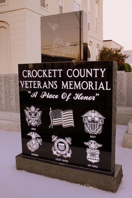Crockett County Veterans Memorial