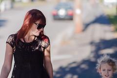 _MG_4900-9 (k.a. gilbert) Tags: street sunglasses walking outside outdoors lucy mother naturallight pedestrian sidewalk kristen wife handheld fullframe milf canon5dc
