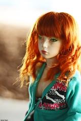 01 (Marta Theart) Tags: licht ginger wig carrot bjd asa jid carrotwig bjdeyes iplehousejid asajid iplehouseasa bjdface bjdmake
