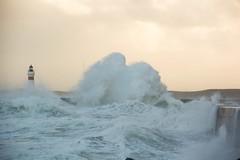 5-12-2013 (Copperhobnob) Tags: winter sea storm scotland dangerous waves aberdeenshire explore foam surge dynamiclandscape