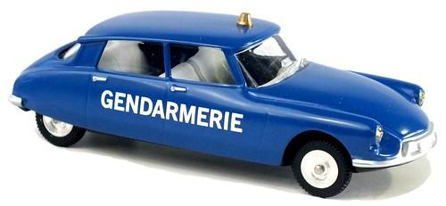 Minialuxe DS 19 Gendarmerie (1)