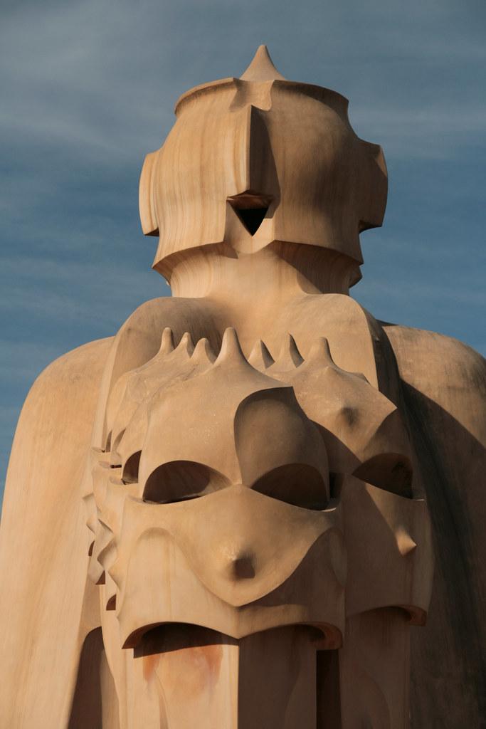 Détail de la Pedrera (Gaudi)