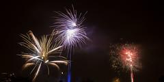 Bonne Anne 2014 !!! (doevos) Tags: holland netherlands fireworks nederland thenetherlands newyear nieuwjaar happynewyear vuurwerk feudartifice 2014 northholland badhoevedorp gelukkignieuwjaar bonneanne