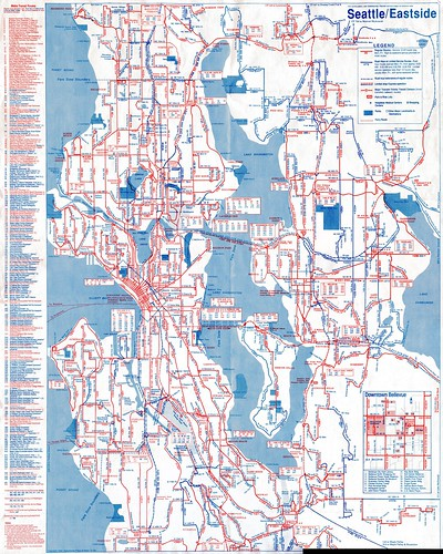 Seattle Metro Map Submited Images