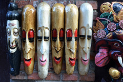 . (robbie ...) Tags: street wood nepal winter streets art digital painting photography nikon asia long faces expressions culture craft carving himalaya bhaktapur