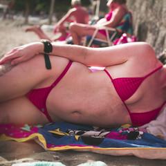 On the Beach (n1ce99) Tags: sexy beach female bikini swimsuit wickedweasel