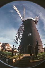 Holgate Windmill, November 2013 - fisheye (3)