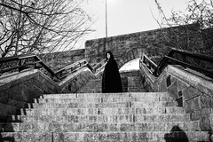 (Tessa Beligue) Tags: people white black fairytale stairs composition interesting scary witch eerie things witches storytelling captivating zehava