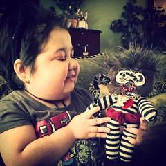 #Katia's creation:) (tracysolomon) Tags: survivor childrenscancer inspiredartist bethematch tracysolomon katiasolomon kharactersbykatia kittykatia