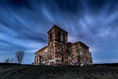midnight bells (raul_lg) Tags: longexposure sky españa bulb night clouds canon stars noche spain cielo nubes estrellas nocturna burgos frio ermita linterna mark3 largaexposicion raullopez canon1635 canon5dmarkiii raullg