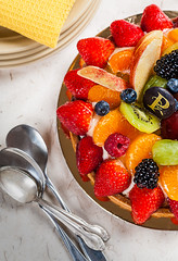 jardinire (maryse levert) Tags: fruits tangerine kiwi couleur fraise ete pomme recette jardiniere premieremoisson culinaire