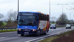 SV54 EKW A63 Cave 02-03-14 (panmanstan) Tags: bus coach yorkshire transport vehicle passenger hull stagecoach humberside a63