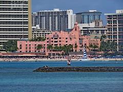 Royal Hawaiian Hotel, Waikiki, Honolulu, Hawaii 3/16/14 (LJHankandKaren) Tags: hawaii waikiki honolulu royalhawaiianhotel