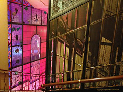 The lift back (Fenfotos) Tags: architecture hotel lift moscow elevator stainedglass metropol ascenseur