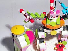 Uni-Tron 2000 (Anthony Wilson (Bricks of Awesome)) Tags: cloud movie happy robot lego land cuckoo mecha mech unikitty