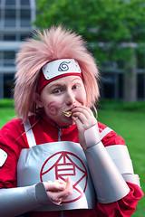 Anime Boston 2013: Naruto (diamondcrevasse) Tags: anime boston cosplay naruto jiraiya asuma shikamaru tsunade 2013 choji