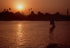 Abend am Nil (captain.orange) Tags: sunset sonnenuntergang egypt nile cairo nil sensei fujicolor kairo agypten