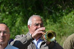 Bugler playing Il Silenzio