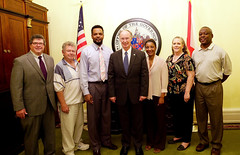 04-21-2015 Governor Bentley meets with Parrish Town Council