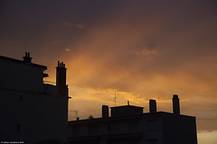 From My Balcony #7 (LilFr38) Tags: sunset sky cloud france balcony ciel nuage balcon fontaine coucherdesoleil isre canonef24105mmf4lusm lilfr38 canoneos5dmarkii