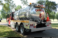 Lexington Township Fire Department Tanker 385 Freightliner (Seluryar) Tags: county ohio fire lexington stark department tanker township 385 freightliner fl80