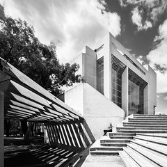High Court of Australia (Chimay Bleue) Tags: late modernism modernist design architecture concrete brutalism brutalist madigan