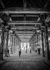 Temple of the Tooth ([urbanfoxcreative]) Tags: kandy srilanka templeofthetooth ricohgr ricohgrii ricoh street streetphotography blackandwhite bw monochrome temple buddhism travel travelphotography 28mm