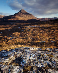 Beinn Damh (Ade G) Tags: landscape scotland seasons light mountains winter