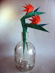 Bird of Paradise - Meenakshi Mukerji (Rui.Roda) Tags: origami papiroflexia papierfalten ave do paraíso flor fleur flower fiore bird paradise meenakshi mukerji
