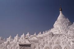 Mingun - pagode Hsinbyume 4 (luco*) Tags: myanmar birmanie burma mingun pagoda hsinbyume pagode flickraward flickraward5 flickrawardgallery
